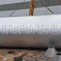 加工好待发的50吨无塔供水罐