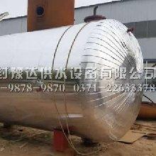 铝皮保温的无塔供水储水罐
