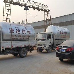 鹤壁淇县订购的无塔供水设备发货