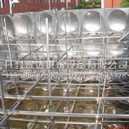神木县不锈钢水箱安装现场