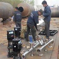 组装中的无负压供水设备