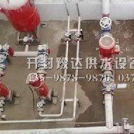 商登高速消防供水设备管路