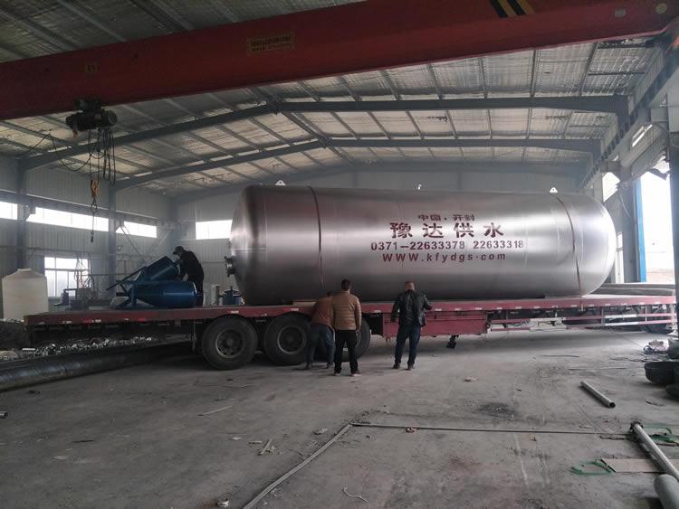 60吨卧式全自动无塔供水设备