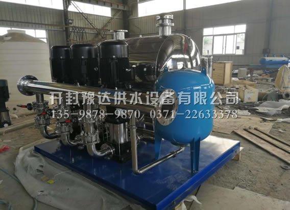 鹤壁鼎盛房地产公司订购无负压供水设备