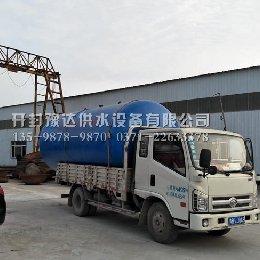 漯河15吨无塔供水设备发货