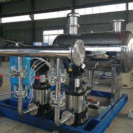 无负压供水设备的优势与劣势