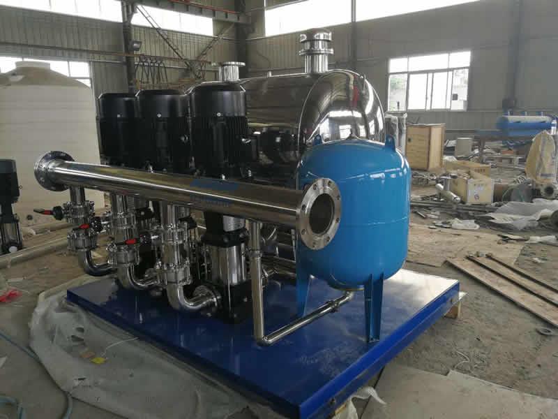无负压变频供水设备的七大优势