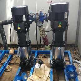 济南客户订购的無負壓供水設備安装