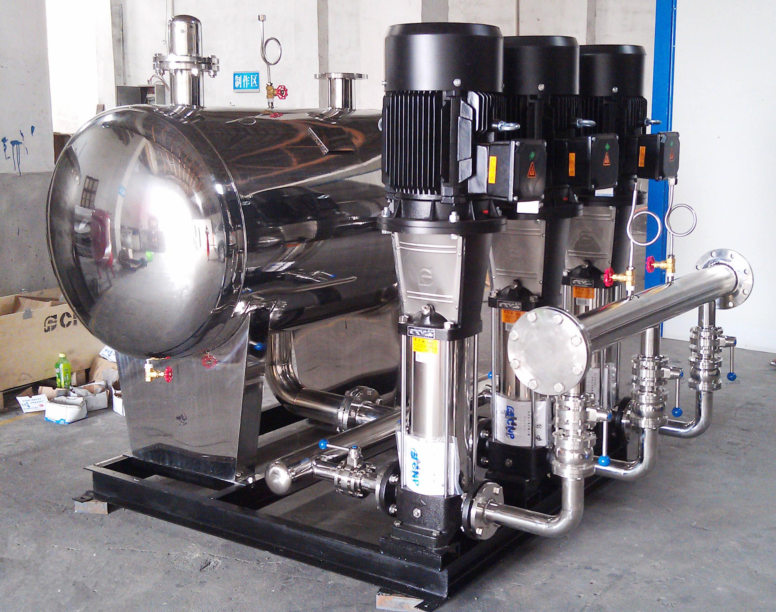 无负压供水设备是最领先最新型的二次供水方法