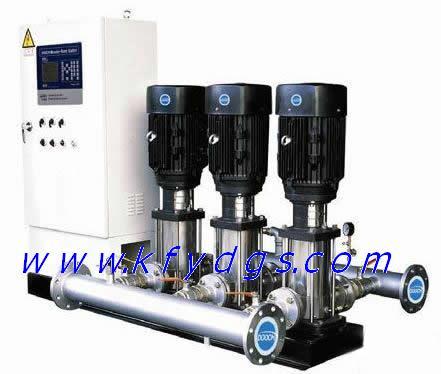 恒压变频供水设备的两种运行模式