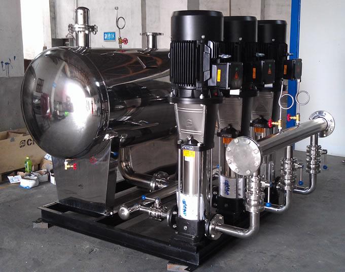 无负压变频供水设备的运营环境和产品性能特点