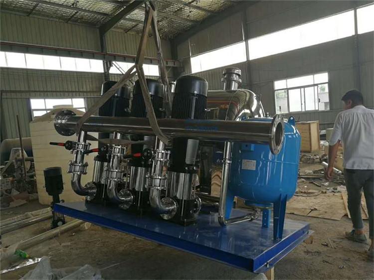 管网叠压供水设备的发展历程
