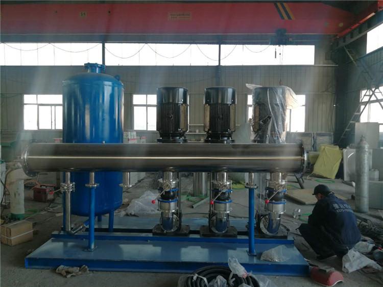 在无负压供水设备过程中给水排水的相关要求