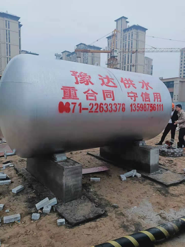 豫达无塔供水设备安装